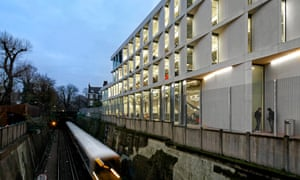University of Greenwich Stockwell Street Building, London, by Heneghan Peng: 'its ambition is admirable'.