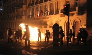 Greeks protest over bailout deal