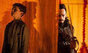 No Merchandising. Editorial Use Only. No Book Cover Usage Mandatory Credit: Photo by Moviestore/REX Shutterstock (4582487a) Levi Miller, Hugh Jackman 'Pan' Film - 2015 'PAN'FILM2015LEVIMILLERHUGHJACKMANSTILLSTILLSFilm StillsActorMalePersonality27945369.