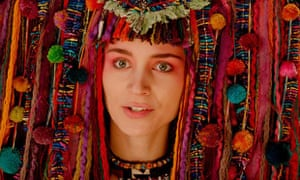 'A regal quality and also she's a little bit frightening' ... Rooney Mara as Tiger Lily in Pan.