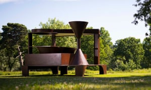 Anthony Caro's Forum (1992-94) at Yorkshire Sculpture Park.