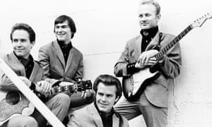 The Bobby Fuller Four, with Bobby at the front.