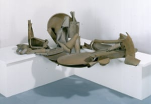 Table Piece Y-98 Déjeuner sur l'herbe II (1989) by Anthony Caro, at the Hepworth Wakefield.