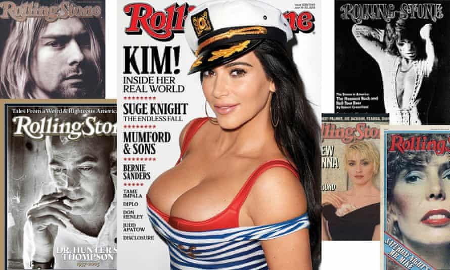 Kim Kardashian's Rolling Stone cover