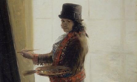 Goya, self-portrait