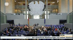 Bundestag votes on third Greek bailout