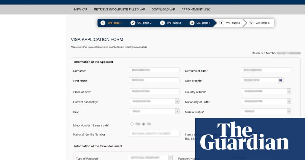 Users Data Compromised After Technical Glitch At Home Office Contractor Technology The Guardian