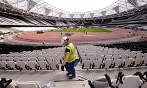 Olympic Stadium  timeline