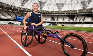 London 2012 gold medallist Hannah Cockroft says the new Olympic Stadium 'looks different but just as nice, a bit cosier'.