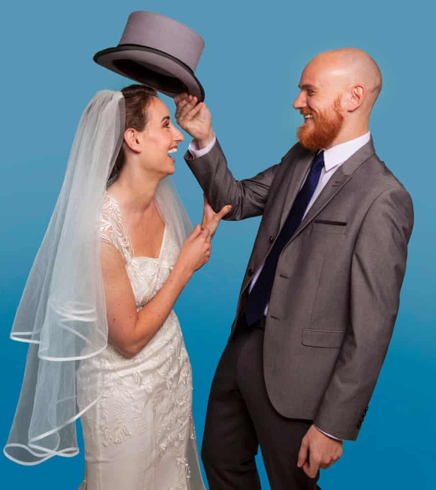 Abigail Radnor with future husband Jamie.