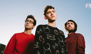 Years and Years: Emre Turkmen, Olly Alexander and Mikey Goldsworthy.