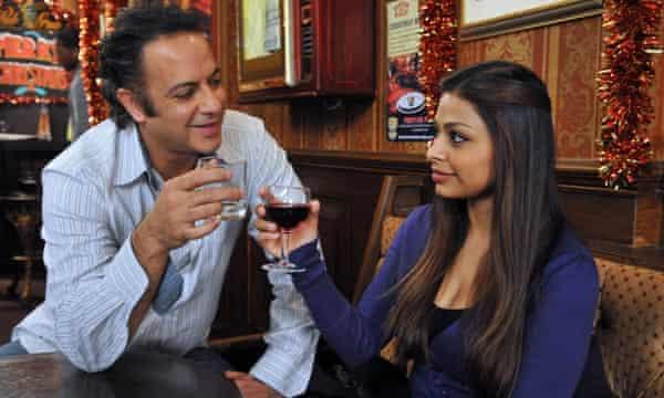 Dharker as Tara in Coronation Street