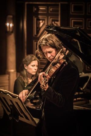 'Fire and vigour': Ana-Maria Vera and Thomas Gould performing Beethoven's Kreutzer Sonata.