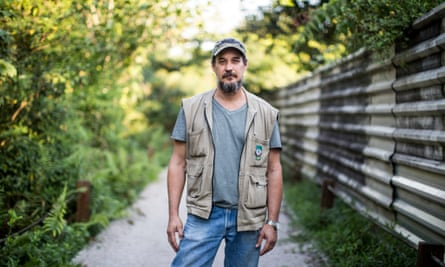 The new Olympic golf course 'is an environmental crime' … Marcello Mello. Photograph: Lianne Milton for the Guardian