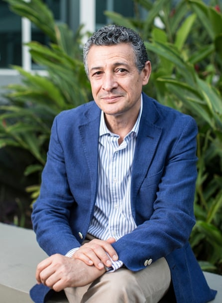 Plans to 'bend the rules' to make more of a show ... executive director of sports, Agberto Guimaraes. Photograph: Lianne Milton for the Guardian