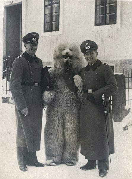 Wermacht officers … and bear.