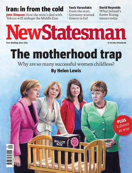 The full cover of the issue of New Statesman.