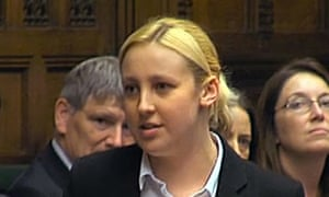 Mhairi Black delivers her maiden speech in the House of Commons.