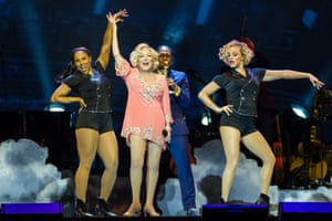 Bette Midler at the O2 Arena, London.
