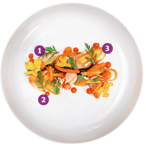 Rabbit, marmalade, carrot, soil: Van Zeller, Harrogate