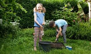 Lia children Rowan Meg