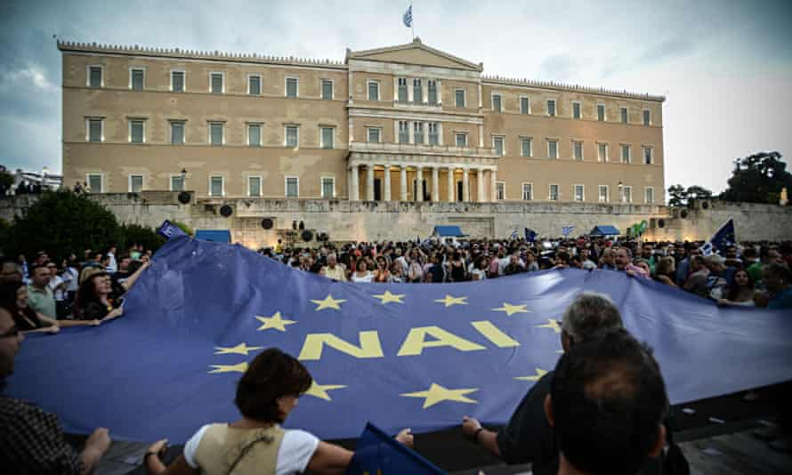 Greek deby crisis, Greece - 30 Jun 2015