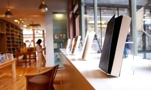 a bookshop display