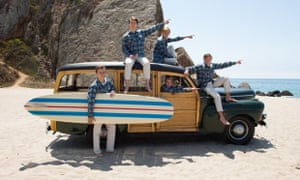 Heroes and villains: Paul Dano's Brian Mk 1 and the Beach Boys in Love & Mercy.