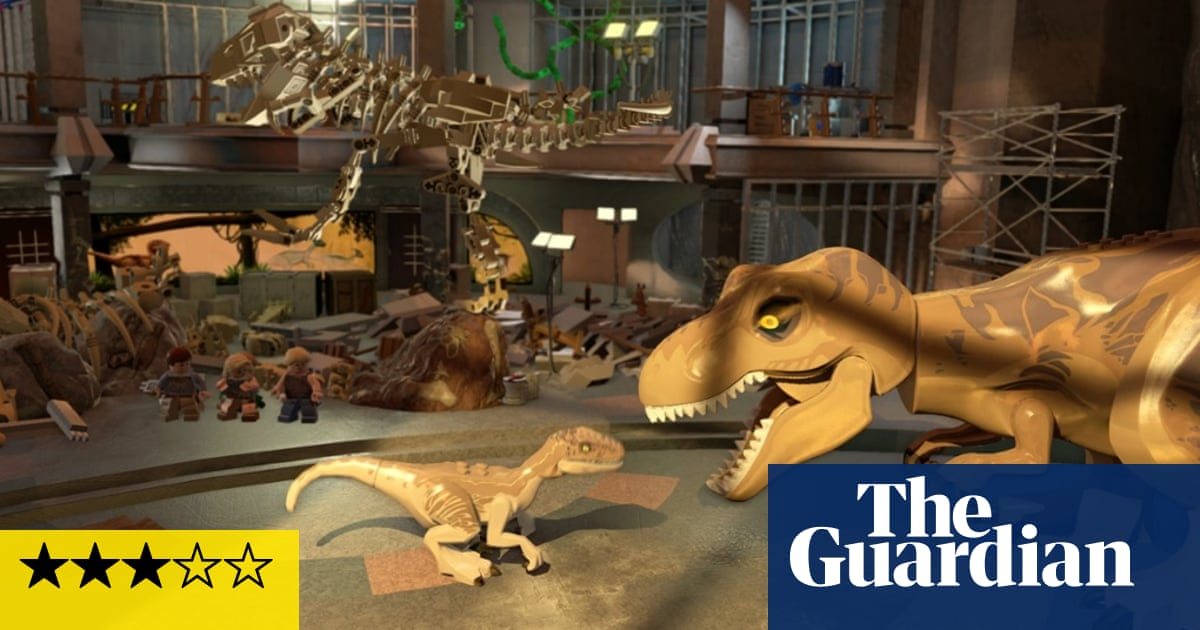 Lego Jurassic World review – enjoyable if predictable family
