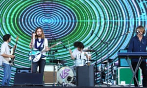 Wizards of Oz: Tame Impala perform at the 2015 Governors Ball Music Festival in New York.