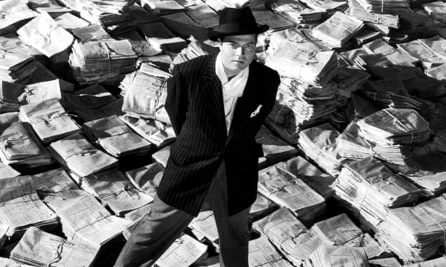 Orson Welles in Citizen Kane (1941). Photograph: Allstar/RKO/Sportsphoto Ltd