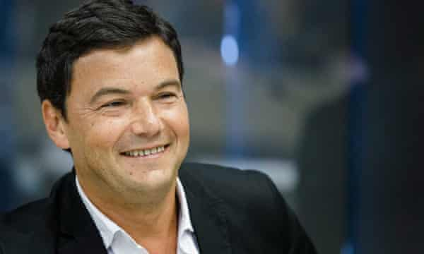 French economist and author of the book Capital, Thomas Piketty.