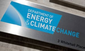 Department of Energy and Climate Change (DECC), Whitehall Place, London. Image shot 2011.