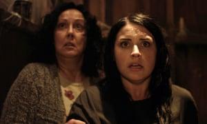 Rima Te Wiata and Morgana O'Reilly in Housebound