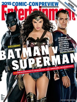 The cover of Entertainment Weekly's special Comic-Con issue