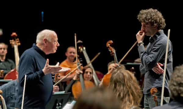 Bernard Haitink and Gad Kadosh
