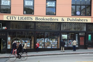 City Lights Booksellers, North Beach, San Francisco.