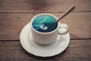 Victoria Siemer Witchoria tea cup Surfing