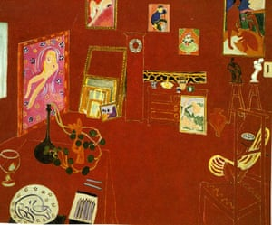 The Red Studio by Matisse