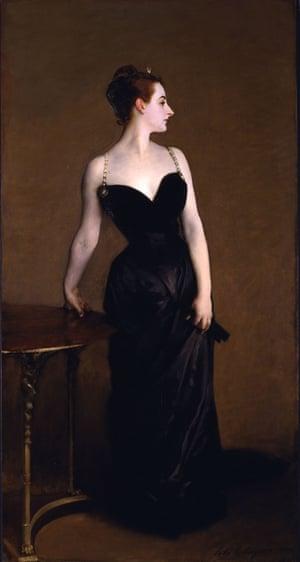 Madame X (Madame Pierre Gautreau), 1883–84