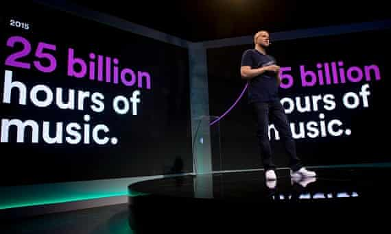 Spotify and its CEO Daniel Ek want people to discover more new music.