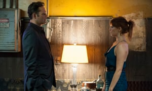 At home with the Semyons… Vince Vaughn and Kelly Reilly.