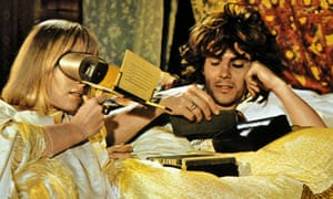 Anita Pallenberg and James Fox in the 1970 film Performance.