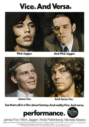 The 1970 poster of Performance