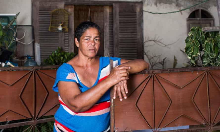 Jane Nascimento de Oliveira, who is one of hundreds of residents fighting to save their homes from forced eviction for the 2016 Olympics, in Barra da Tijuca, Rio de Janeiro, Brazil.