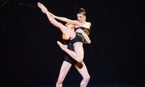 Natalia Osipova and Edward Watson in Zeitgeist, from Ardani 25 Dance Gala.