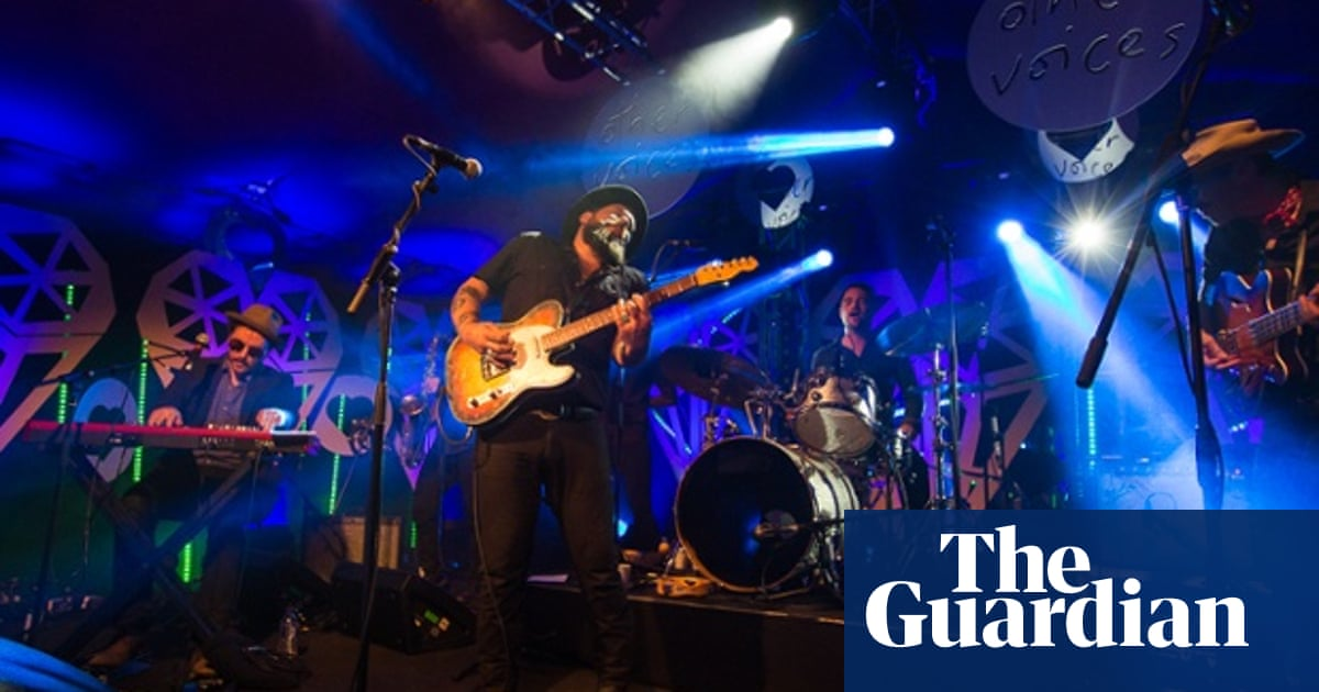 Nathaniel Rateliff crashes into classic soul with the force