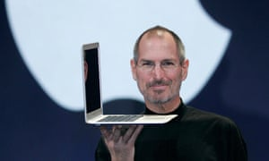 Apple's former chief executive, Steve Jobs, brought the company back from the brink.