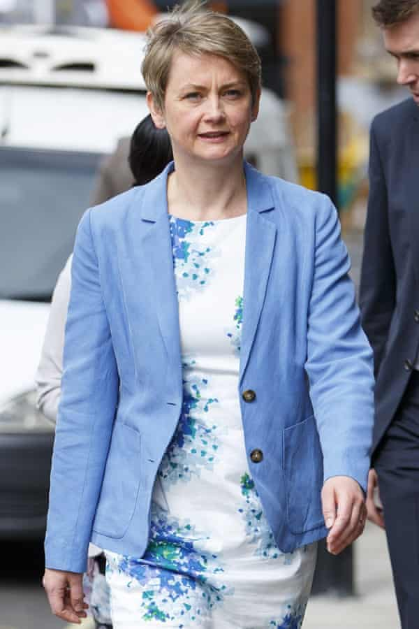 Helen Goodman caused uproar after writing she supports Yvette Cooper (pictured) because she is a mother.