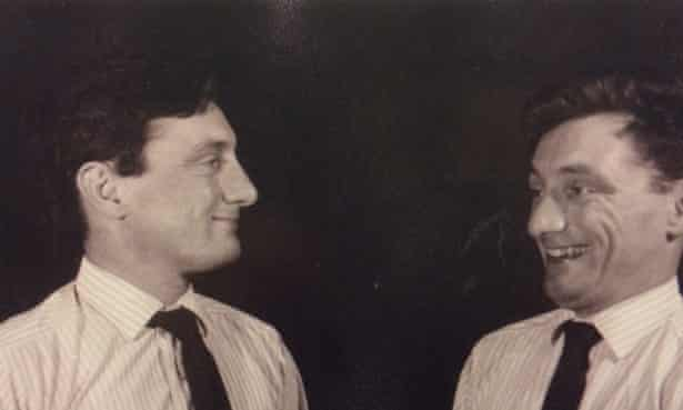 Russell Royle in one of his experimental photographs, taken in the mid to late 1960s